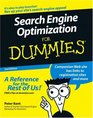 Search Engine Optimization For Dummies Second Edition