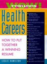 Wow Resumes for Health Careers