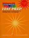 Spectrum Test Prep Book 8  Test Preparation for Reading Language Math