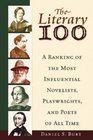 Literary 100 A Ranking of the Most Influential Novelists Playwrights and Poets of All Time