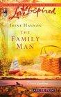 The Family Man (Davis Landing, Bk 3)  (Love Inspired) (Larger Print)