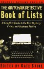 The Armchair Detective Book of Lists (2nd Edition)