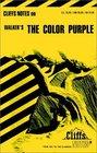 Cliffs Notes Walker's The Color Purple