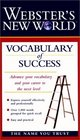 Webster's New World Vocabulary of Success