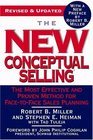 The New Conceptual Selling  The Most Effective and Proven Method for Face-to-Face Sales Planning