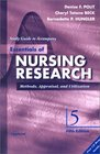 Study Guide to Accompany Essentials of Nursing Research: Methods, Appraisal, and Utilization