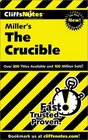 Cliffs Notes Miller's The Crucible