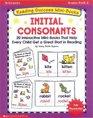Reading Success Mini-Books Initial Consonants