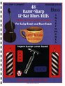 48 Razor-Sharp 12-Bar Blues Riffs for Swing Bands and Blues Bands: Bass Instruments Edition (Red Dog Music Books Razor-Sharp Blues Series)