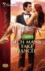 Rich Man's Fake Fiancee (Landis Brothers, Bk 1) (Beachcombers, Bk 3) (Silhouette Desire)