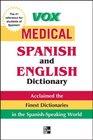 Vox Medical Spanish Dictionary
