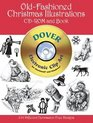 Old-Fashioned Christmas Illustrations CD-ROM and Book