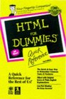 HTML for Dummies:  Quick Reference