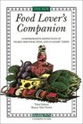 The New Food Lover's Companion Comprehensive Definitions of Nearly 6000 Food Drink and Culinary Terms