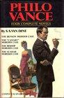 Philo Vance Four Complete Novels