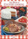 The Best of Country Cooking 2003