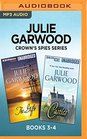 Julie Garwood Crown's Spies Series Books 3-4 The Gift  Castles