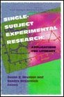 SingleSubject Experimental Research Applications for Literacy
