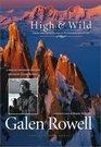 High  Wild Essays and Photographs on Wilderness Adventure