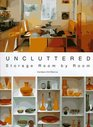Uncluttered Storage Room by Room