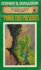 The Power That Preserves (Chronicles of Thomas Covenant the Unbeliever, Bk 3)
