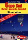 Cape Cod, Martha's Vineyard  Nantucket Street Atlas