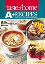 Taste of Home A Recipes from Schools Across America 245 Top-of-the-Class Recipes