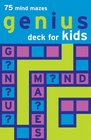 Genius Deck Mind Mazes for Kids