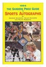The Sander's Price Guide to Sports Autographs 1994