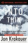 Into Thin Air : A Personal Account of the Mt. Everest Disaster
