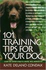101 Training Tips for Your Dog : Learn the Experts Way to a Happy Well-behaved Pet