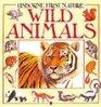 Usborne First Nature Wild Animals