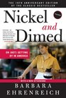 Nickel and Dimed On  Getting By in America