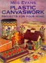 Meg Evans Plastic Canvaswork Projects for Your Home