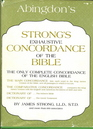 Strongs Exhaustive Concordance