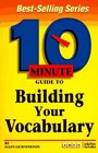 Arco 10 Minute Guide to Building Your Vocabulary