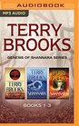 Terry Brooks - Genesis of Shannara Series Books 1-3 Armageddon's Children The Elves of Cintra The Gypsy Morph