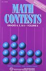 Math Contests Grades 4 5  6 Vol 6