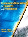 Communication Skills for Business and Professions