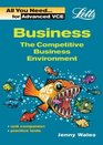 The Competitive Business Environment