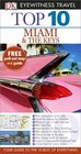 DK Eyewitness Top 10 Travel Guide Miami  The Keys