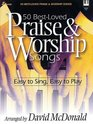 50 Best-Loved Praise  Worship Songs Easy to Sing Easy to Play