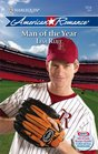 Man Of The Year (Harlequin American Romance, No 1214)