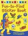 Fun to Find Sticker Book