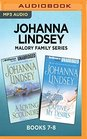 Johanna Lindsey Malory Family Series Books 78 A Loving Scoundrel  Captive of My Desires