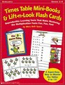 Times Table Mini-books  Lift-n-Look Flash Cards