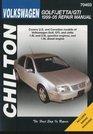 Volkswagen Golf/Jetta/GTI 1999 through  2005