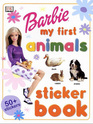 Barbie My First Animals Sticker Book