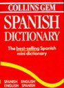 Collins Gem Spanish Dictionary Spanish-English English-Spanish