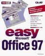 Easy Microsoft Office 97 (Que's Easy Series)